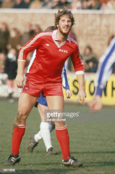 Ian Botham of Scunthorpe United in action during the League Division Four match between Scunthorpe United and Wigan Athletic held on March 29 1980 at...