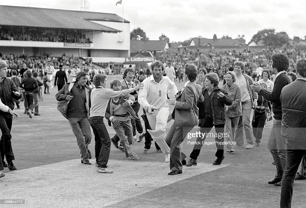 3rd Test England v Australia at Headingley 1981 : News Photo