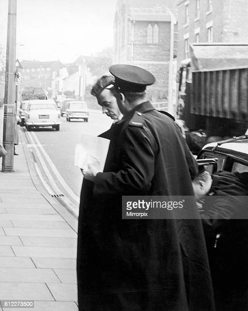Ian Brady 18th October 1965 Pictured outside court Hyde Manchester The Moors murders were carried out by Ian Brady and Myra Hindley between July 1963...