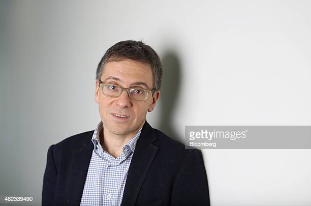Ian Bremmer, chief executive officer of Eurasia Group Ltd., a political consultancy group, poses for a photograph following a Bloomberg Television...