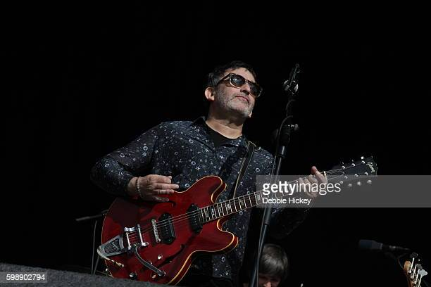 Ian Broudie of The Lightning Seeds performs at Electric Picnic Festival at Stradbally Hall Estate on September 3 2016 in Laois Ireland