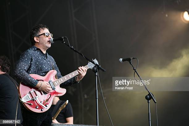 Ian Broudie of The Lightning Seeds performs at electric Picnic at Stradbally Hall Estate on September 3 2016 in Dublin Ireland