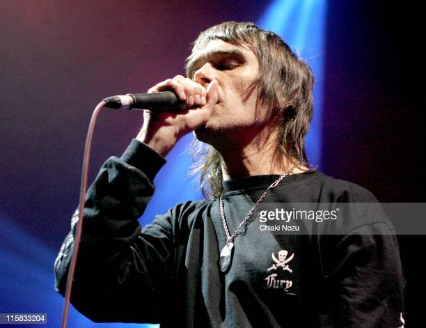 Ian Brown during Shockwaves NME Awards Shows Ian Brown February 15 2006 at Koko in London Great Britain