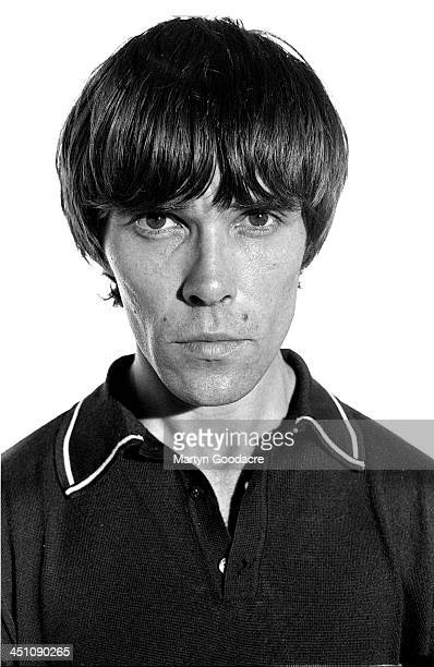 Ian Brown of The Stone Roses solo era portrait London United Kingdom 1998