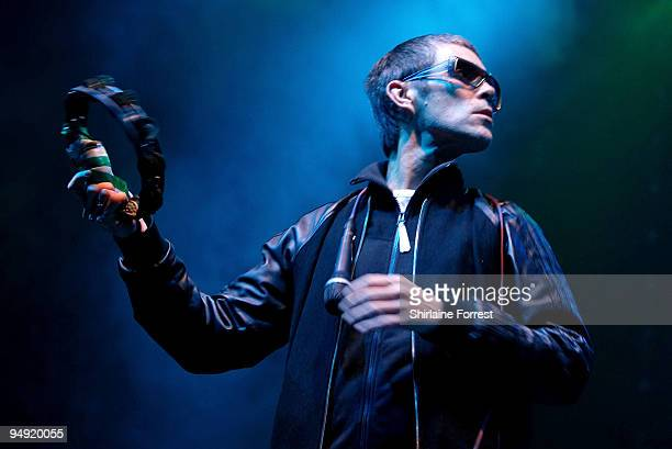 Ian Brown performs at MEN Arena on December 19 2009 in Manchester England