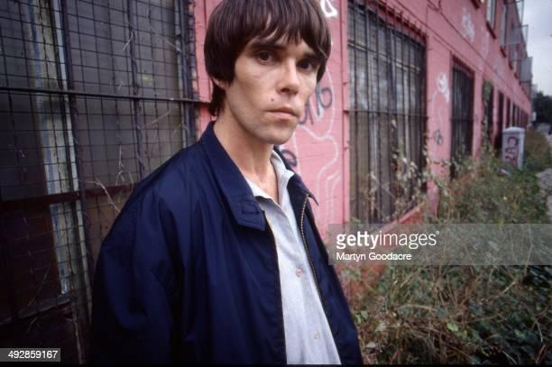 Ian Brown portrait London United Kingdom 1998
