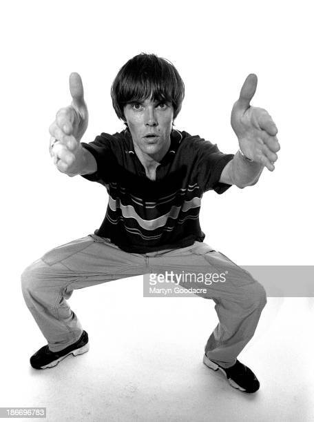 Ian Brown singer formerly of The Stone Roses London 1998