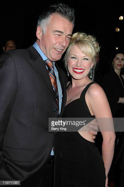 Ian Buchanan and Adrienne Frantz during The Bold and the Beautiful 20th Anniversary Gala Arrivals at Two Rodeo in Beverly Hills California United...