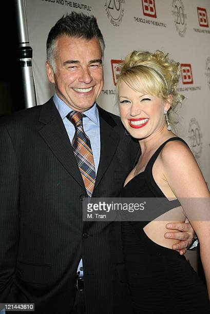 Ian Buchanan and Adrienne Frantz during 'The Bold and the Beautiful' Gala to Celebrate 20 Years at Two Rodeo in Beverly Hills California United States