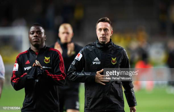 Ian Burchnall head coach of Ostersunds FK after the Allsvenskan match between IF Elfsborg and Ostersunds FK at Boras Arena on August 6 2018 in Boras...