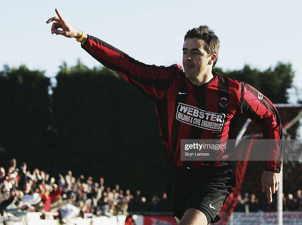 Histon FC v Shrewsbury Town : News Photo