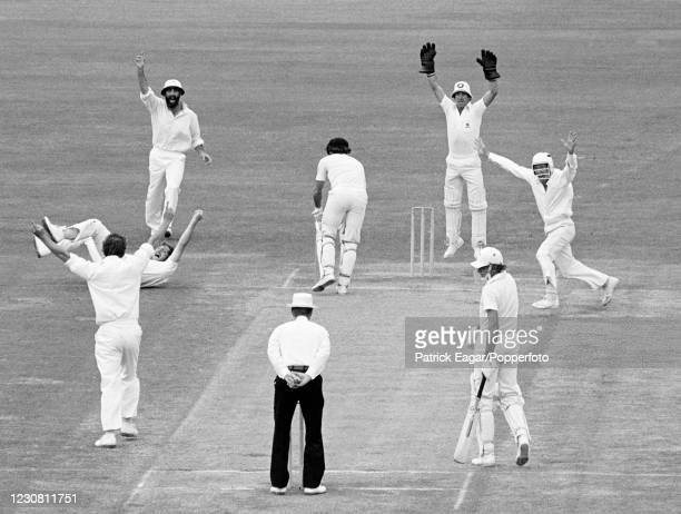 Ian Chappell of Australia is caught for 9 runs by Ian Botham of England off the bowling of Derek Underwood during the 2nd Test match between...