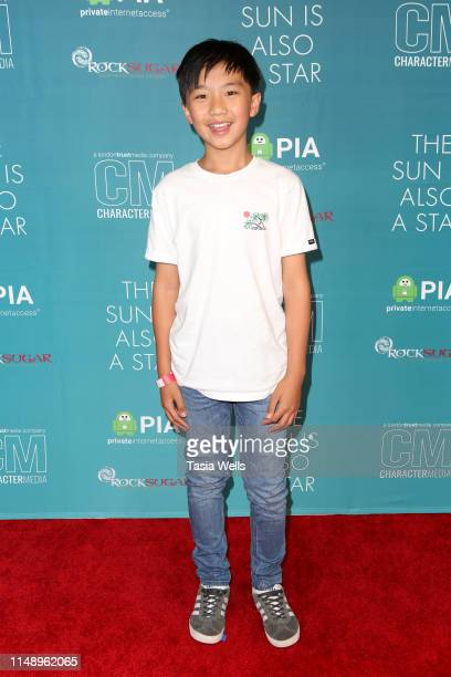 "Ian Chen attends the Special Screening of Warner Bros ""The Sun Is Also A Star"" at Westfield Century City AMC on May 13, 2019 in Los Angeles,..."