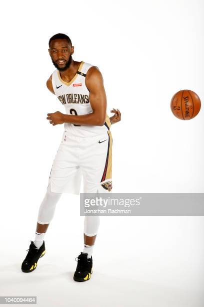 Ian Clark of the New Orleans Pelicans poses for a portrait during the 2018 NBA Media Day on September 24 2018 at the Ochsner Sports Performance...
