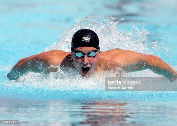 Ian Crocker qualified with a new Olympic trial record of 5169 in the Men's 100 meter Butterfly He qualified first ahead of Michael Phelps at US...