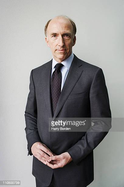 Ian Davis managing Director of McKinsey Company poses for a portrait shoot in London on March 23 2006