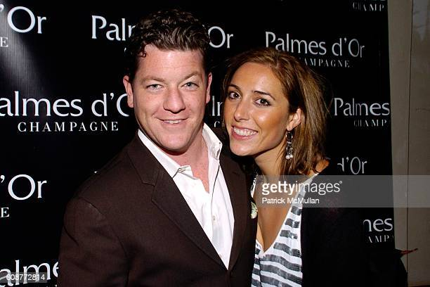 Ian Doyle and Nicole Qualls attend Palmes dOr Champagne Celebrates The ALIFE at 632 Hudson Street on October 24 2007 in New York City