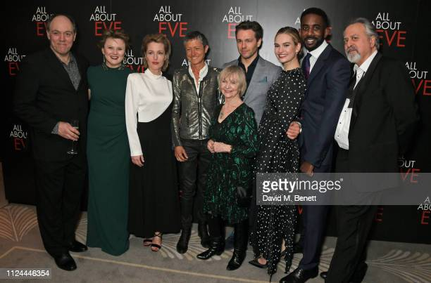Ian Drysdale Monica Dolan Gillian Anderson Alexandra Mankiewicz Sheila Reid Julian Ovenden Lily James Rhashan Stone and Stanley Townsend attend the...