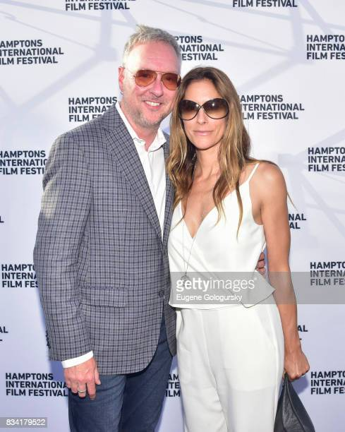 Ian Duke and Cristina Cuomo attend the The Hamptons International Film Festival SummerDocs Series Screening of WHITNEY CAN I BE ME at UA Southampton...
