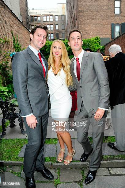 Ian Ferreyra de Bone Allie Sutherland and Miguel Ferreyra de Bone attend Historic Royal Palaces Patrons Secret Garden Party at Merchant's House...