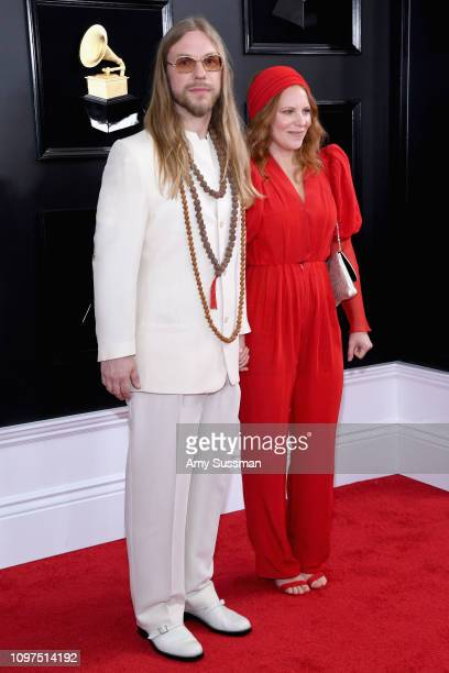 Ian Fitchuk and Megan Thompson attend the 61st Annual GRAMMY Awards at Staples Center on February 10 2019 in Los Angeles California