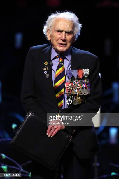 Ian Forsyth MBE speaks during the UK Holocaust Memorial Day Commemorative Ceremony in Westminster on January 27 2020 in London England 2020 marks the...