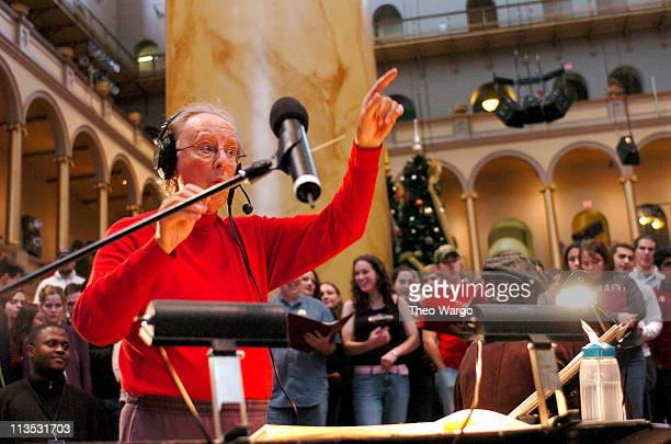 Ian Frasier during TNT's Christmas in Washington 2004 Rehearsals at National Building Museum in Washington DC DC United States