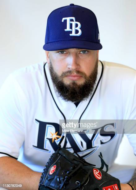 Ian Gardeck of the Tampa Bay Rays poses for a portrait during photo day on February 17, 2019 in Port Charlotte, Florida.