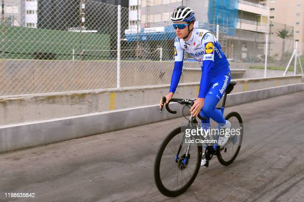 Ian Garrison of The United States and Deceuninck - Quick-Step Team / S-Works Specialized Bike / during the Team Deceuninck-Quick-Step 2020 - Media...
