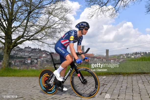 Ian Garrison of United States and Team Deceuninck - Quick-Step during the 74th Tour De Romandie 2021, Stage 5 a 16,19km Individual Time Trial stage...