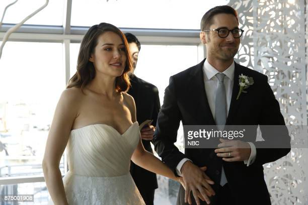 THE BLACKLIST 'Ian Garvey #13' Episode 508 Pictured Megan Boone as Elizabeth Keen Ryan Eggold as Tom Keen