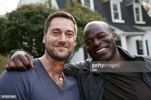THE BLACKLIST 'Ian Garvey #13' Episode 508 Pictured Ryan Eggold Hisham Tawfiq