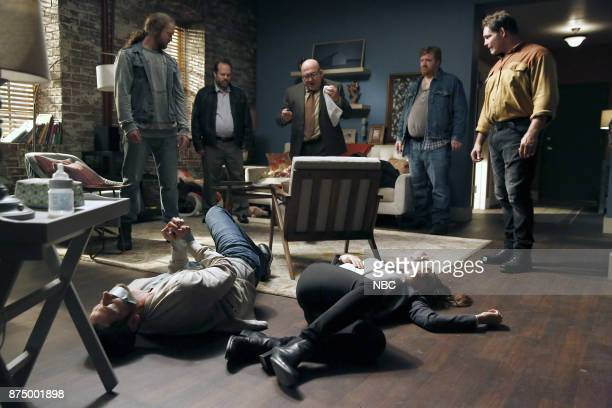THE BLACKLIST 'Ian Garvey #13' Episode 508 Pictured Thomas Glen Baker as JL Ryan Eggold as Tom Keen Wade Mylius as Fischbauch Jonny Coyne as Ian...