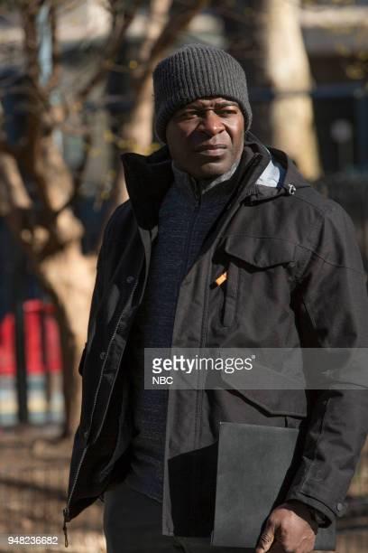 THE BLACKLIST 'Ian Garvey Conclusion' Episode 519 Pictured Hisham Tawfiq as Dembe Zuma