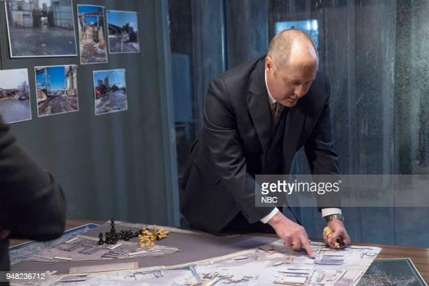 THE BLACKLIST 'Ian Garvey Conclusion' Episode 519 Pictured James Spader as Raymond 'Red' Reddington