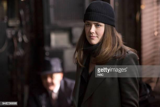 THE BLACKLIST 'Ian Garvey Conclusion' Episode 519 Pictured Megan Boone as Elizabeth Keen