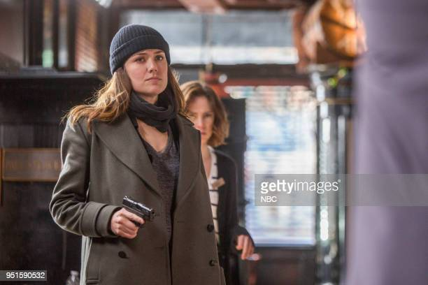 THE BLACKLIST 'Ian Garvey Conclusion' Episode 519 Pictured Megan Boone as Elizabeth Keen