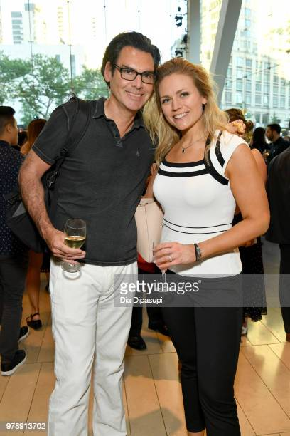 Ian Gerard and Lauren Gerard attend Lincoln Center Corporate Fund's Stand Up Sing for the Arts at Alice Tully Hall on June 19 2018 in New York City