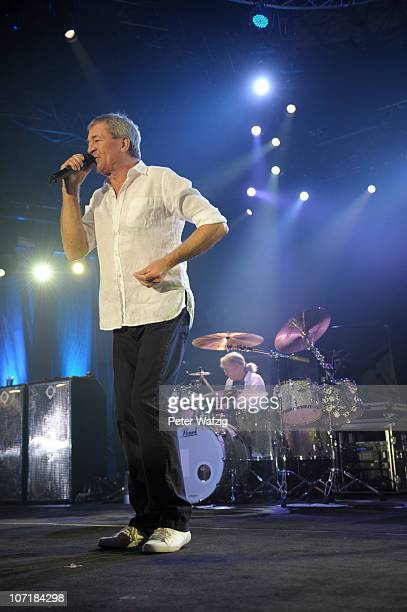 Ian Gillan of Deep Purple performs on stage at the Grugahalle on November 28, 2010 in Essen, Germany.