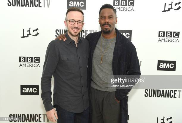 Ian Goldberg and Colman Domingo attend the AMC Network Summit on April 08 2019 in New York City