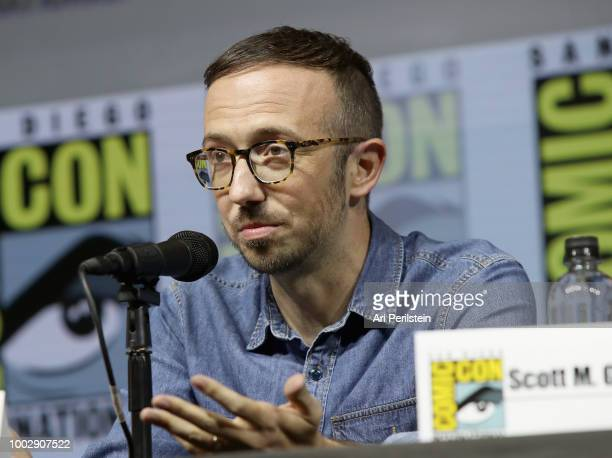 Ian Goldberg attends the 'Fear the Walking Dead' panel with AMC during ComicCon International 2018 at San Diego Convention Center on July 20 2018 in...