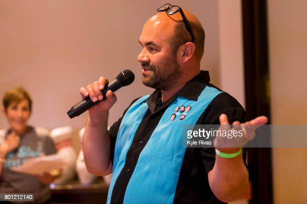 Ian Gomez attends the 2017 Big Slick Celebrity Bowling at Pinstripes during the Big Slick Celebrity Weekend benefiting Children's Mercy Hospital of...
