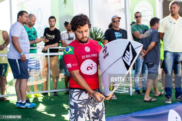 Ian Gouveia from Brazil finished his campaign in 9th after placing third in Heat 1 of Round 4 at the Oi Rio Pro in Saquarema, Rio de Janeiro, BRA.