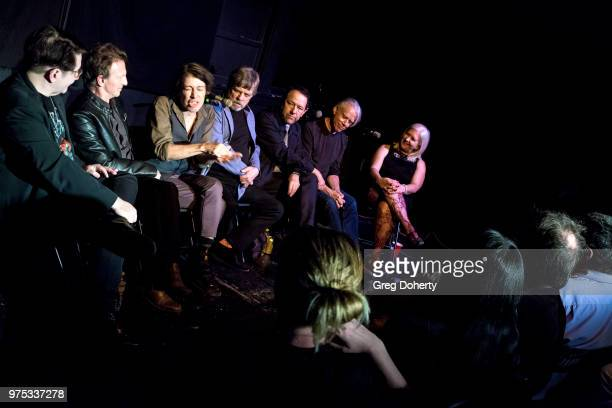 Ian Grey Danny Wild Earle Mankey Steven Hufsteter Mark Hamill Danny Benair and Lisa Fancher attend The Quick In Conversation With Mark Hamill Earl...