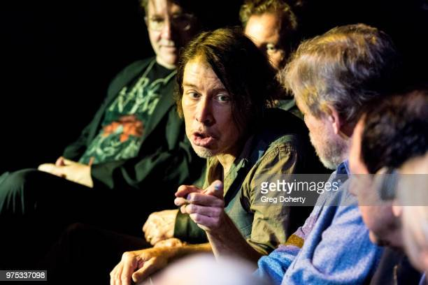 Ian Grey Danny Wild Steven Hufsteter Mark Hamill Danny Benair attend The Quick In Conversation With Mark Hamill Earl Mankey And Lisa Fancher at...