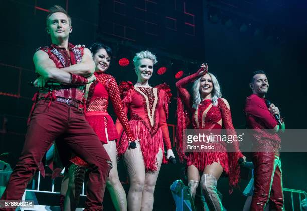 Ian 'H' Watkins Lisa ScottLee Claire Richards Faye Tozer and Lee LatchfordEvans of Steps perform at The O2 Arena on November 24 2017 in London England
