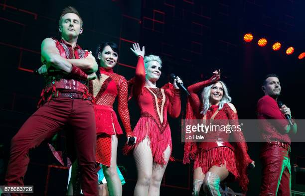 ONLY Ian 'H' Watkins Lisa ScottLee Claire Richards Faye Tozer and Lee LatchfordEvans of Steps perform at The O2 Arena on November 24 2017 in London...