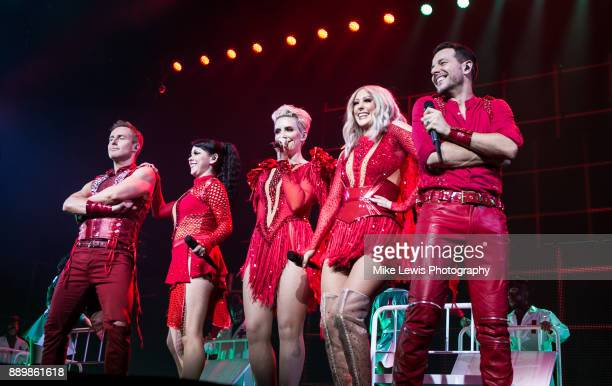 Ian 'H' Watkins Lisa ScottLee Claire Richards Faye Tozer and Lee LatchfordEvans of Steps perform on stage at Motorpoint Arena on December 10 2017 in...