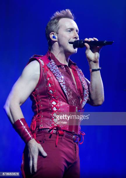ONLY Ian 'H' Watkins of Steps perform at The O2 Arena on November 24 2017 in London England