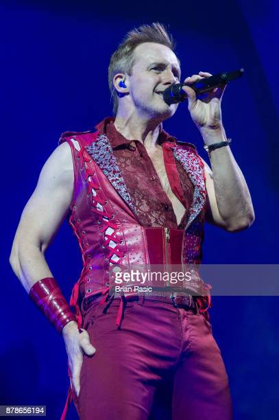 Ian 'H' Watkins of Steps performs at The O2 Arena on November 24 2017 in London England